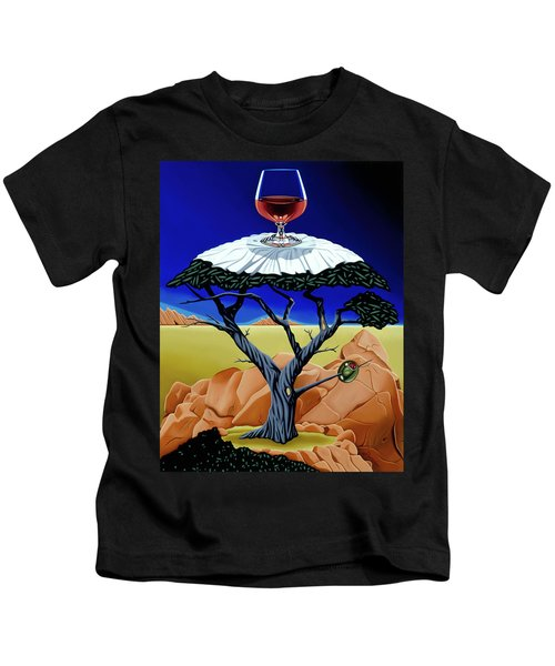 Happy Hour At The Midreal Cypress Kids T-Shirt