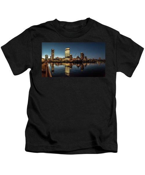 Harbor House View Kids T-Shirt