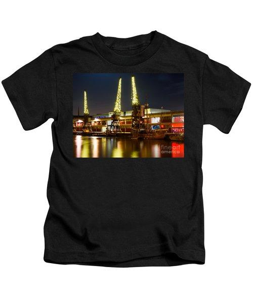Harbour Cranes Kids T-Shirt