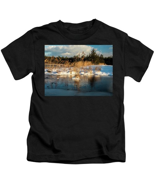 Hard Frosts And Icy Drafts Kids T-Shirt