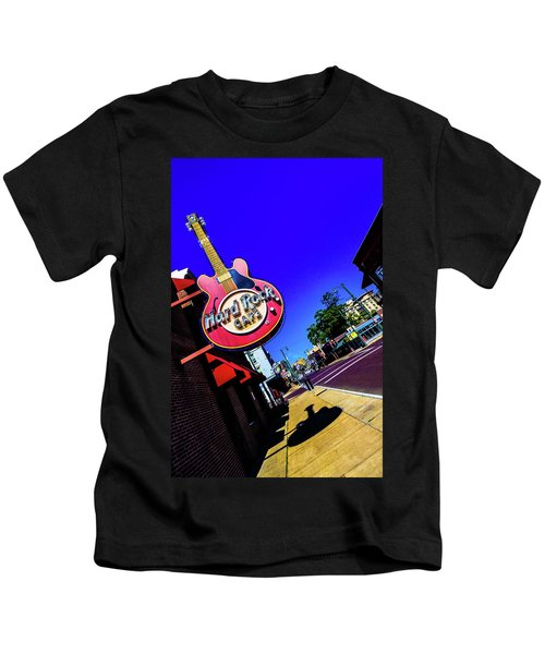 Hard Rockin On Beale Kids T-Shirt