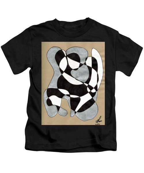Harlequin Abtracted Kids T-Shirt