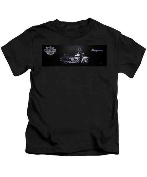 Harley Davidson Snap-on Kids T-Shirt