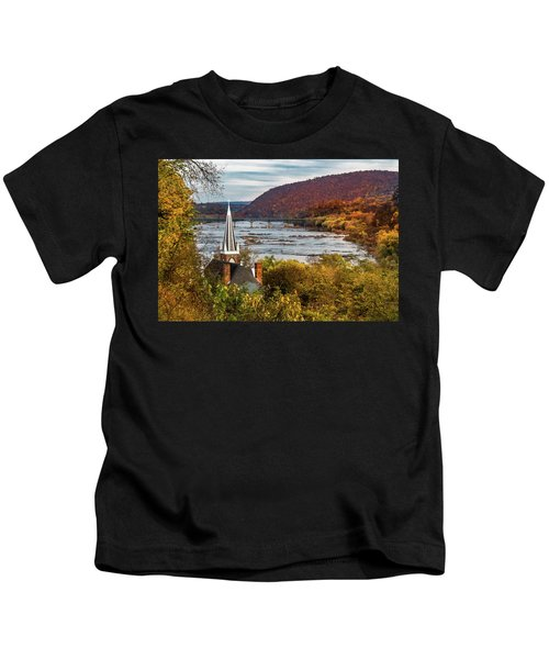 Harpers Ferry, West Virginia Kids T-Shirt