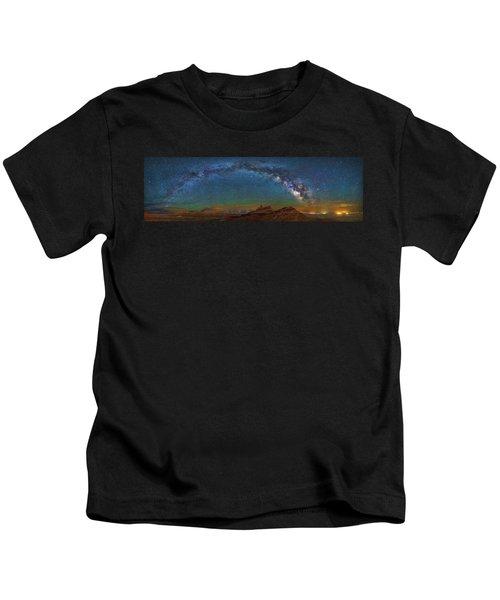 Hat Rock Milky Way Kids T-Shirt