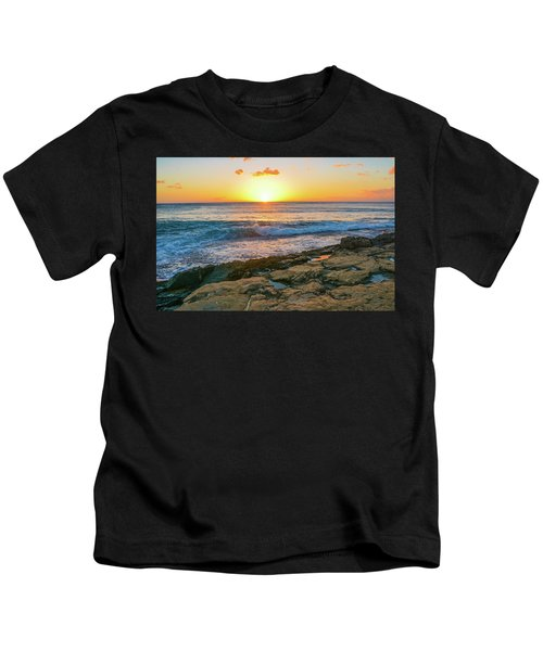 Hawaii Sunset Kids T-Shirt