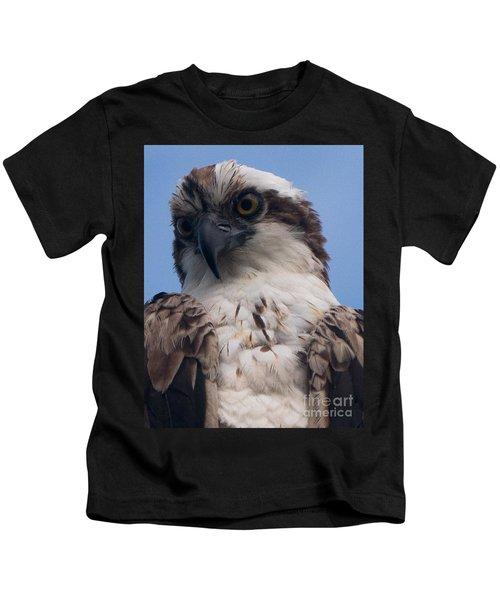 Hawk Profile Kids T-Shirt