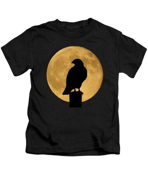 Hawk Silhouette 2 Kids T-Shirt