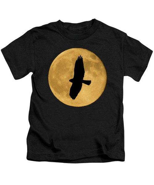 Hawk Silhouette Kids T-Shirt