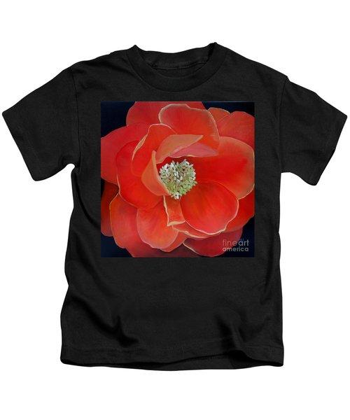 Heart-centered Rose Kids T-Shirt