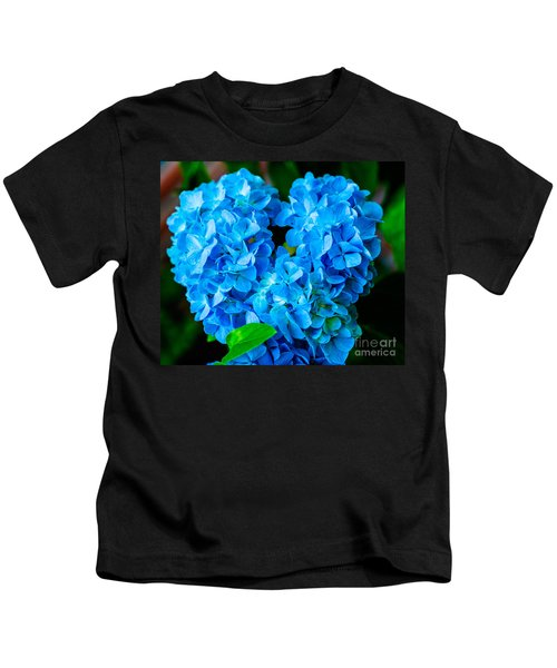 Heart Of Blue Kids T-Shirt