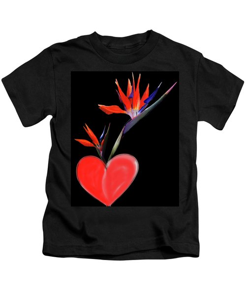 Heart  Of Paradise Kids T-Shirt