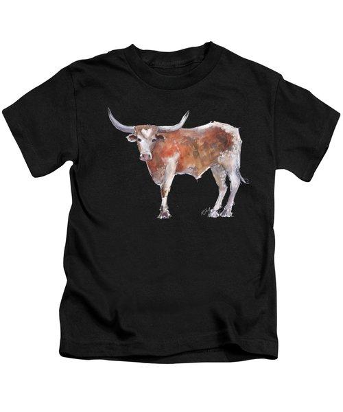 Heart Of Texas Longhorn Kids T-Shirt