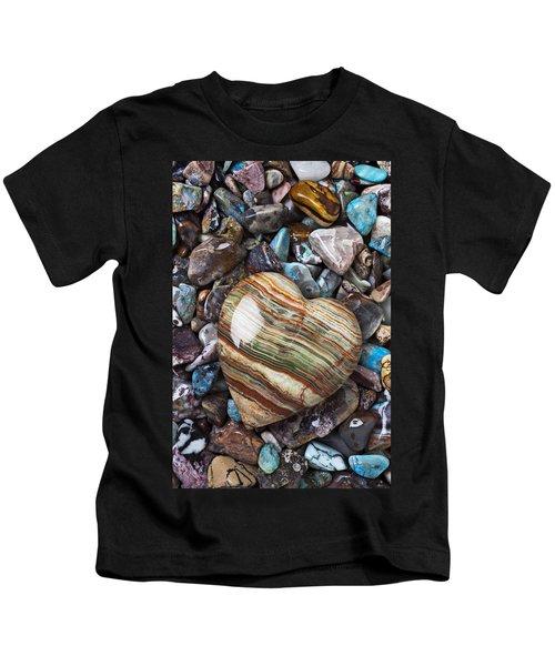 Heart Stone Kids T-Shirt