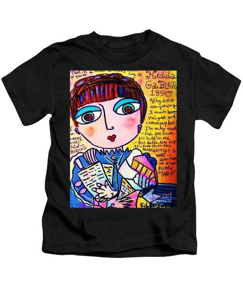Hedda Gabler Kids T-Shirt