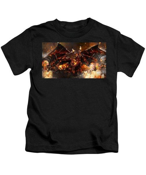 Hellborn Dragon Kids T-Shirt