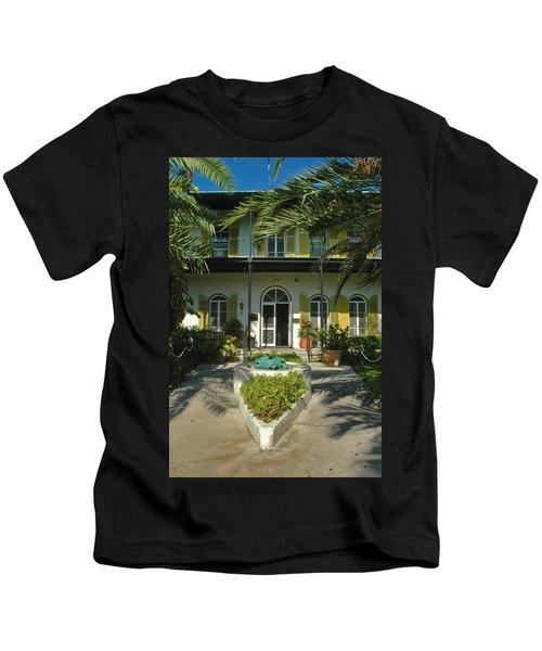 Hemingways House Key West Kids T-Shirt