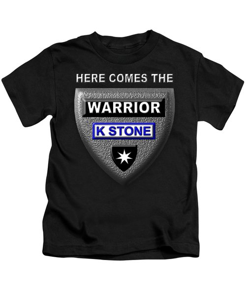 Here Comes The Warrior Kids T-Shirt