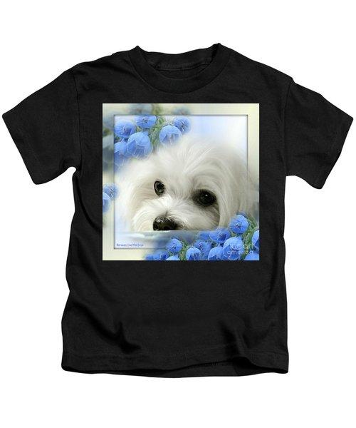 Hermes In Blue Kids T-Shirt