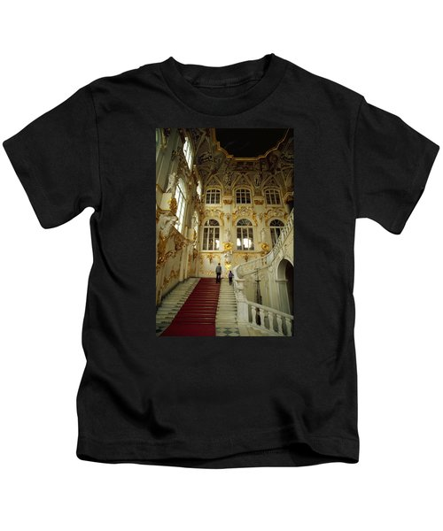 Hermitage Staircase Kids T-Shirt