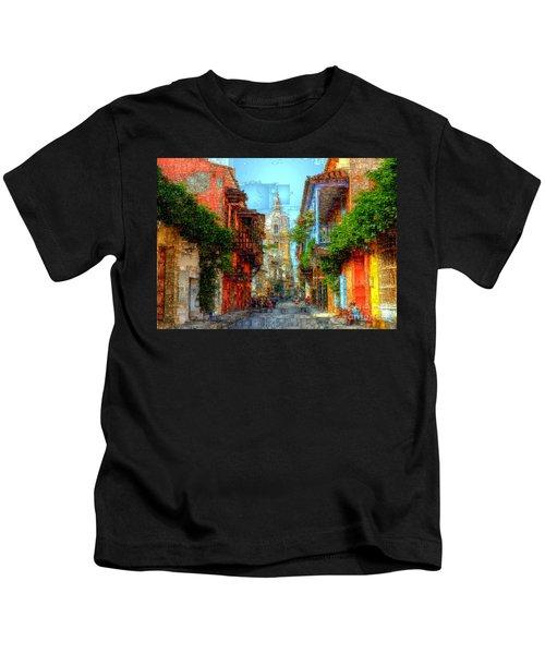 Heroic City, Cartagena De Indias Colombia Kids T-Shirt