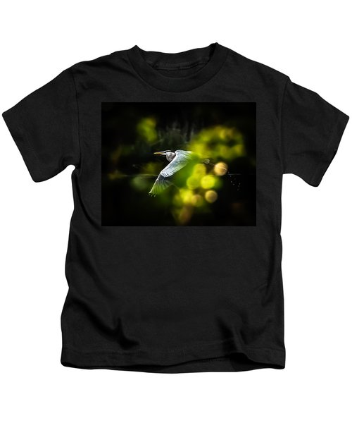 Heron Launch Kids T-Shirt