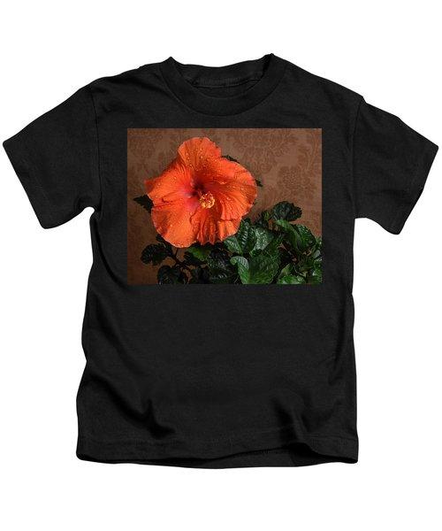 Hibiscus Fine Art Kids T-Shirt