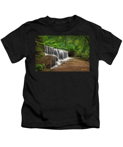Hidden Falls  Kids T-Shirt