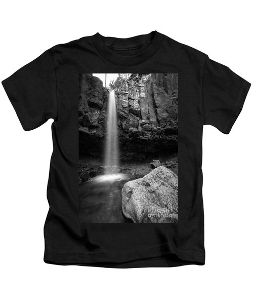 Hidden Waterfall Kids T-Shirt