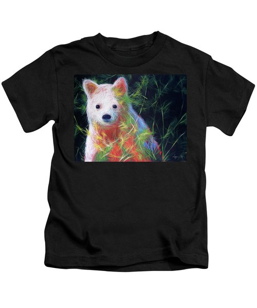 Hiding In The Vines Kids T-Shirt