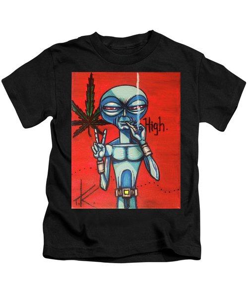 High Alien Kids T-Shirt