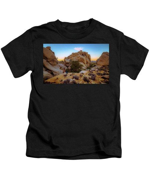 High Desert Pose Kids T-Shirt