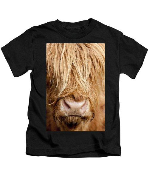 Highland Cow Kids T-Shirt