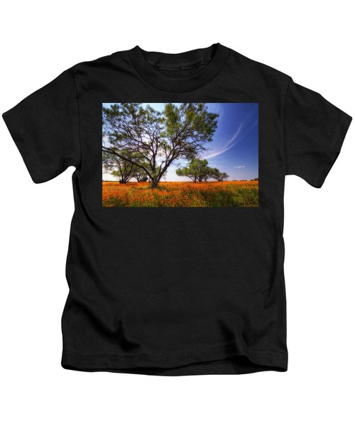 Hill Country Spring Kids T-Shirt