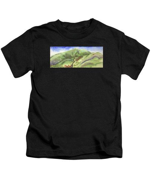 Hillside Panorama Kids T-Shirt