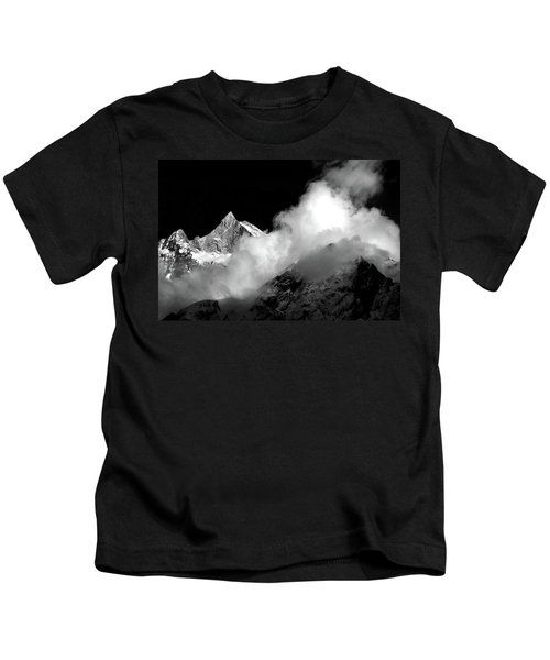 Himalayan Mountain Peak Kids T-Shirt