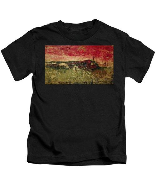 His Crucifiction Kids T-Shirt