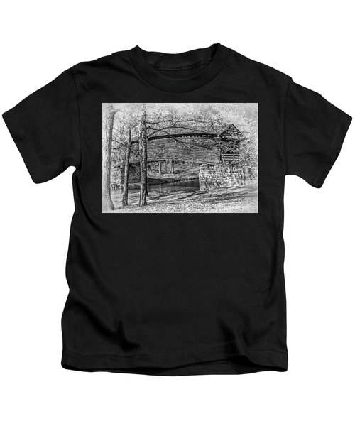 Historic Bridge Kids T-Shirt