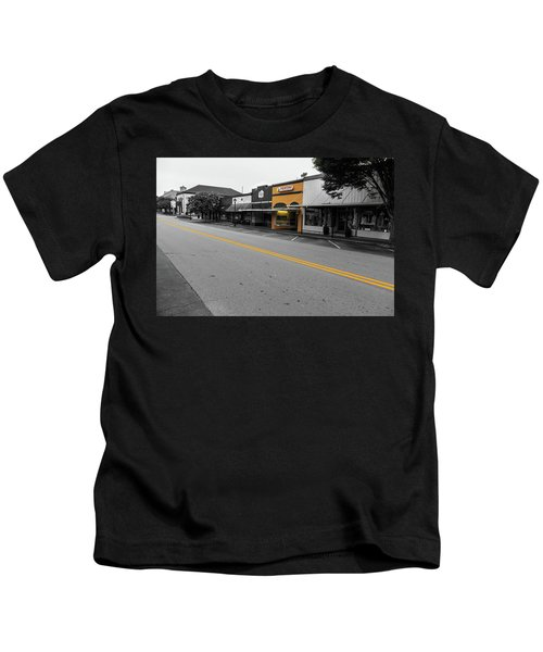 Historic Buford In Selective Color Kids T-Shirt