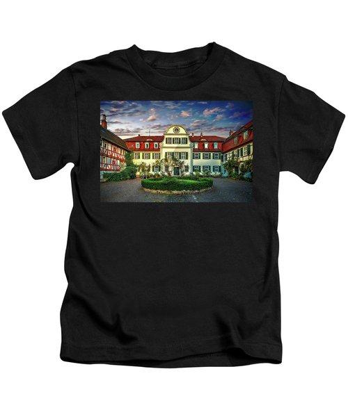 Historic Jestadt Castle Kids T-Shirt