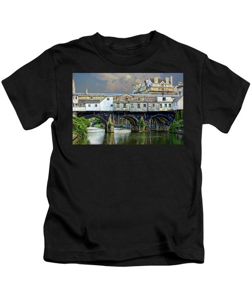 Historic Pulteney Bridge Kids T-Shirt