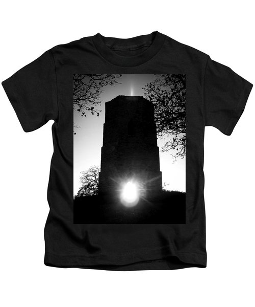 Historical Water Tower At Sunset Kids T-Shirt