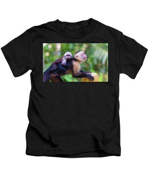Hitching A Ride Kids T-Shirt