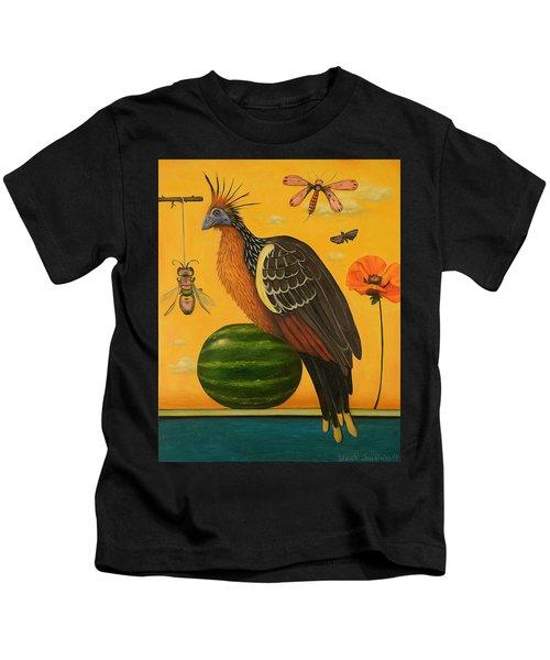 Hoatzin 2 Kids T-Shirt