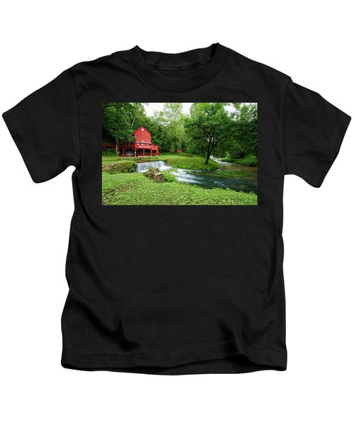 Hodgson Water Mill And Spring Kids T-Shirt