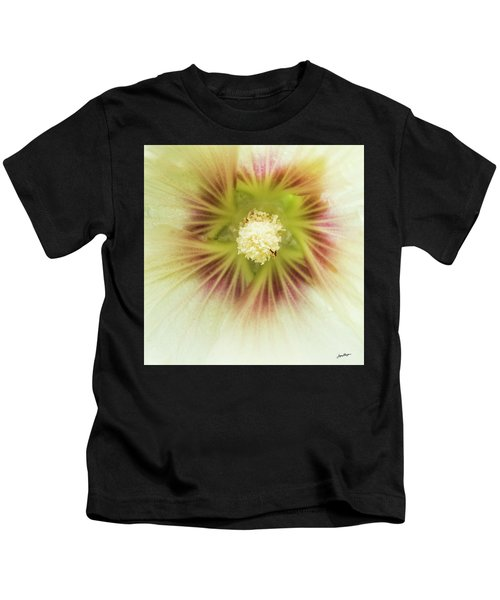 Hollyhock Center Kids T-Shirt