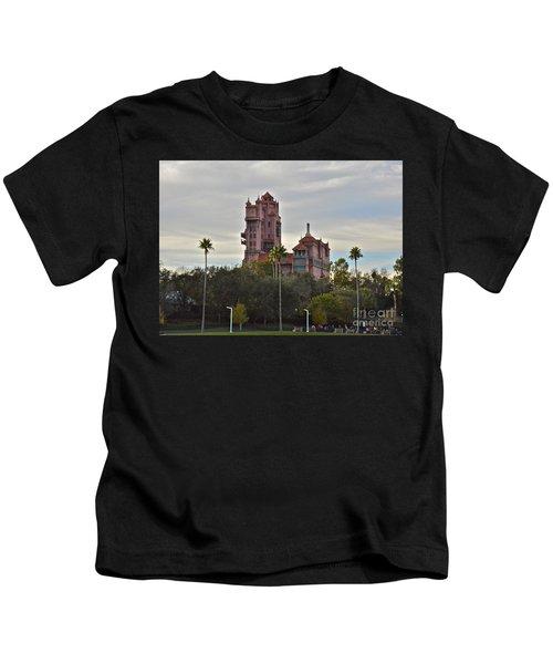 Hollywood Studios Tower Of Terror Kids T-Shirt