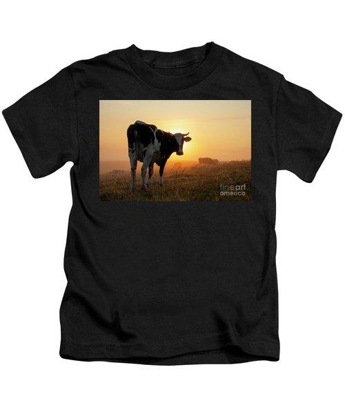 Holstein Friesian Cow Kids T-Shirt