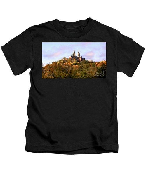 Holy Hill Basilica, National Shrine Of Mary Kids T-Shirt