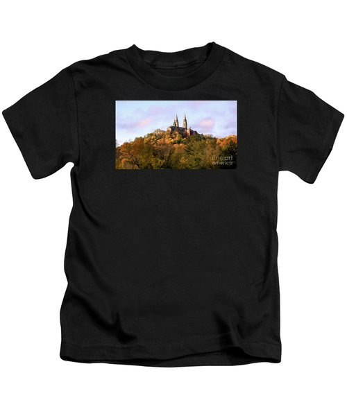 Holy Hill Basilica, National Shrine Of Mary Kids T-Shirt
